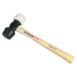 Vaughan 19-510 24oz Super Steelrubber Mallet Hick