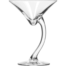 Libbey 7700 6.7 Ounce Bravora Martini Glass