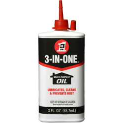 WD-40 3-oz. Drip 3-in-one Multi-purpose Oil, 3oz. Can