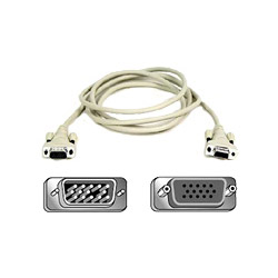 Belkin PRO Series - Display Extender - HD-15 (F) - HD-15 (M) - 10'