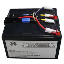 BTI Replacement Battery #48 for APC - UPS battery - lead acid