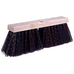 "Weiler 16"" Street Broom w/Synthetic Fill"