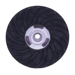 "Weiler 4-1/2"" Back Up Pad Forfiber Disc 5/8"" -11 A.h."