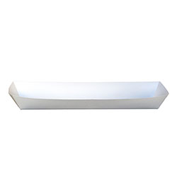 SQP Hot Dog 12 in w/Middle perf White