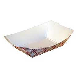 SQP Food Tray #50 Red Plaid