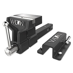 Wilton ATV All-Terrain Truck Vise™, Bench Mount Bracket, 6 in Jaw, 5 in Throat