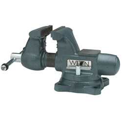 Wilton Tradesman Round Channel Vise with Swivel Base, 5 1/2""