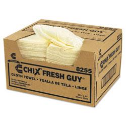 Chicopee Fresh Guy Towels, 13 1/2 x 13 1/2, Yellow, 150/Carton