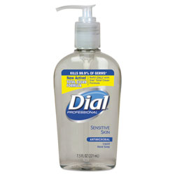 Dial Professional Antibacterial Moisturizing Bottled Soap, 7.5 Oz