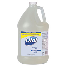 Dial Professional Liquid Antimicrobial Soap for Sensitive Skin, 1 GAL