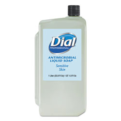 Dial Professional Antibacterial Unscented Soap Dispenser Refill, 34 Oz, Moisturizing