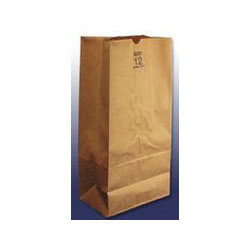 "Duro Lawn & Leaf Paper Bags, 16""x35"", Natural"