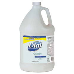Dial Antimicrobial Soap with Moisturizers, 1gal Bottle, 4/Carton