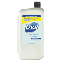 Dial Professional Antibacterial Moisturizing Bottled Soap, 34 Oz