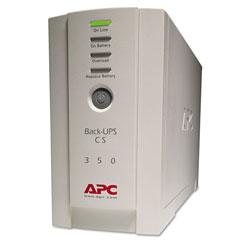 APC BK350 Back-UPS CS 350 - UPS (External) - AC 120 V - 210 Watt - 350 VA - 6 Output Connector(s)