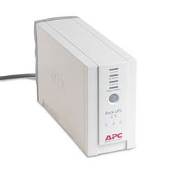 APC BK500 Back-UPS CS Battery Backup System, 6 Outlets, 500 VA, 480 J