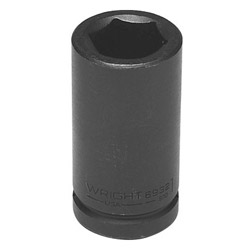 "Wright Tool 1"" 3/4"" Drive 6 Point Deep Impact Socket"
