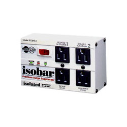 Tripp Lite ISOBAR4/220 Isobar 4 - Surge Suppressor (External) - AC 220/240 V - 4 Output Connector(s) - United States