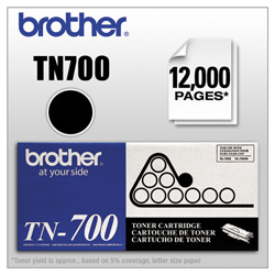 Brother TN700 Toner Cartridge - 1 x Black - 12000 Pages