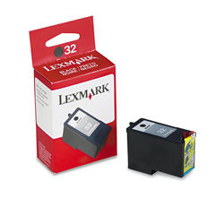 Lexmark Cartridge No. 32 - Print Cartridge - 1 x Black