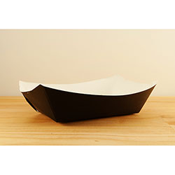 SQP Food Tray #500 Solid Black