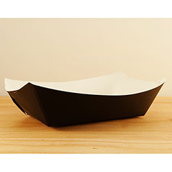 SQP Food Tray #250 Solid Black