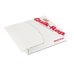 Georgia Pacific Quik-Rap Grease-Resistant Waxed Sandwich Paper, 14 x 14, Opaque White,1000/Pack
