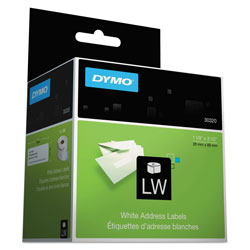 "Dymo Address - Address Labels - Black On White - 1.125"" x 3.5"" - 520 Label(s)"