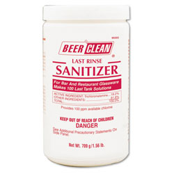 Diversey Bar Glass Washing System Sanitizer, 25 Ounce