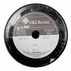 Bee Line Abrasives Resin Bonded Abrasives With Steel Safety Back, 6in, 5/8-11 Arbor, Aluminum Oxide