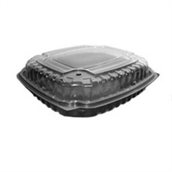 Anchor Packaging Culinary Basic 9.5x10.5 1-Comp. Base/1-Cmp. Lid, Hi