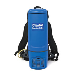 Clarke ComfortPak 6 Backpack Vacuum
