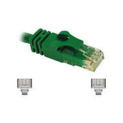 Cables To Go Patch Cable - RJ45 (M) - RJ45 (M) - 10' - (CAT 6) - Green