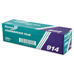 Reynolds PVC Film Roll with Cutter Box, 18 in x 2000 ft, Clear