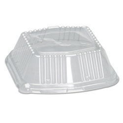 Genpak Domed Plastic Lid, Clear
