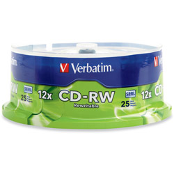 Verbatim Blank Media, CD-rw 80 Min 700mb