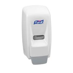 Purell Bag-In-Box Hand Sanitizer Dispenser, 800 mL, 5.63 in x 5.13 in x 5.13 in, White