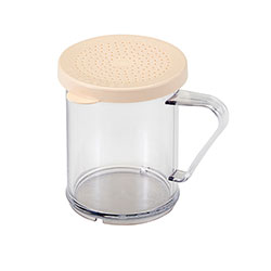 Cambro Shaker for Salt/Pepper Clear