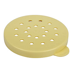 Cambro Shaker Lid for Cheese Yellow