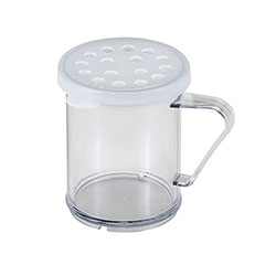 Cambro Shaker With Lid for Parsley Clear