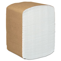 Kimberly-Clark Dispenser Napkins, White, 1 Ply, Case of 6000