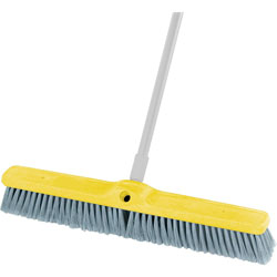 Rubbermaid Gray Brush Floor Flagg Fine 24""