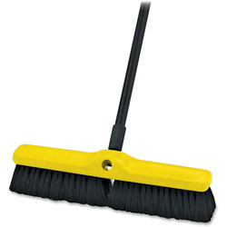 Rubbermaid Tampico-Bristle Medium Floor Sweep, 18""
