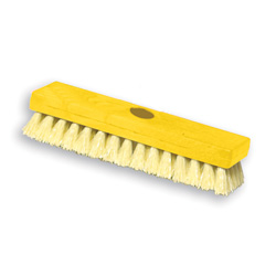 Rubbermaid 9B36 Deck Brush, Plastic Block, Polypropylene Fill, 9""