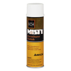 Misty Furniture Polish for Wood, Citrus Scent, 20 oz. Aerosol Can
