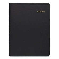 At-A-Glance Weekly Appointment Book, 8 1/4 x 10 7/8, Black, 2017-2018