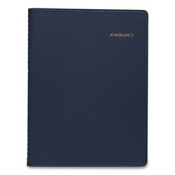 At-A-Glance Weekly Appointment Book, 8 1/4 x 10 7/8, Navy, 2017-2018
