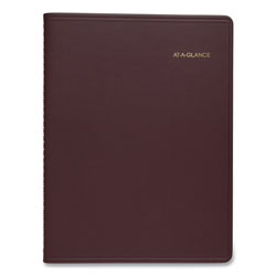 At-A-Glance Weekly Appointment Book, 15 Min. Appts, 8 1/4 x 10 7/8, Winestone
