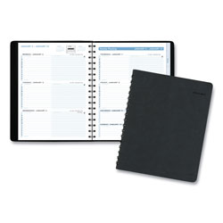 At-A-Glance The Action Planner Weekly Appointment Book, 6 7/8 x 8 3/4, Black, 2017