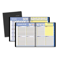 At-A-Glance QuickNotes Weekly/Monthly Appointment Book, 8 x 9 7/8, Black, 2017